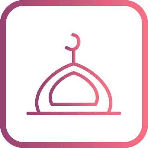Vector icono de la mezquita