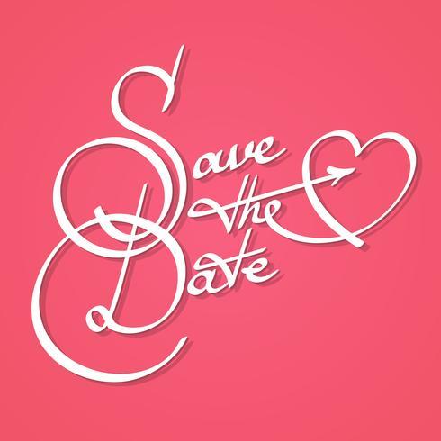 Salve a caligrafia de data