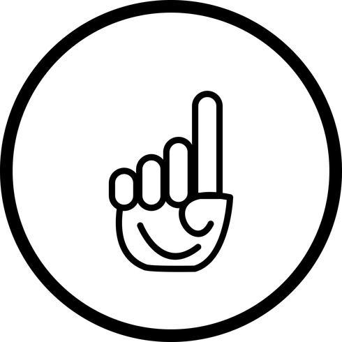Vector geloof in Allah pictogram