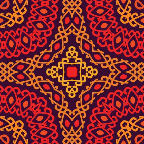 Colorful tribal ethnic seamless pattern.