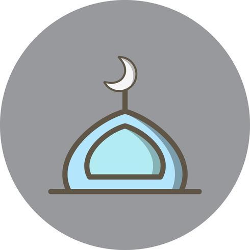 Vector moskee pictogram