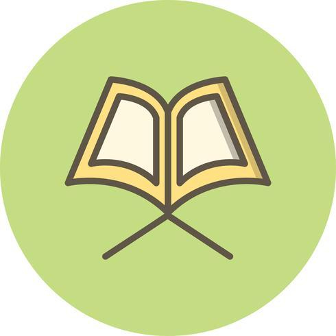 Icona del Sacro Corano di vettore