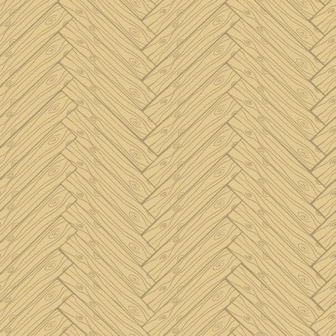 Parquet cartoon doodle style seamless pattern