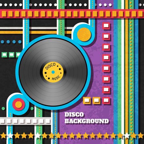 Disco musik bakgrund