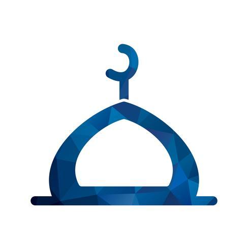 Vector Mosque Icon