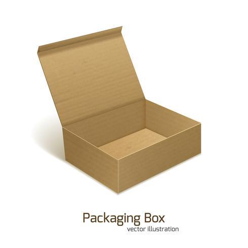 Boîte d'emballage en papier