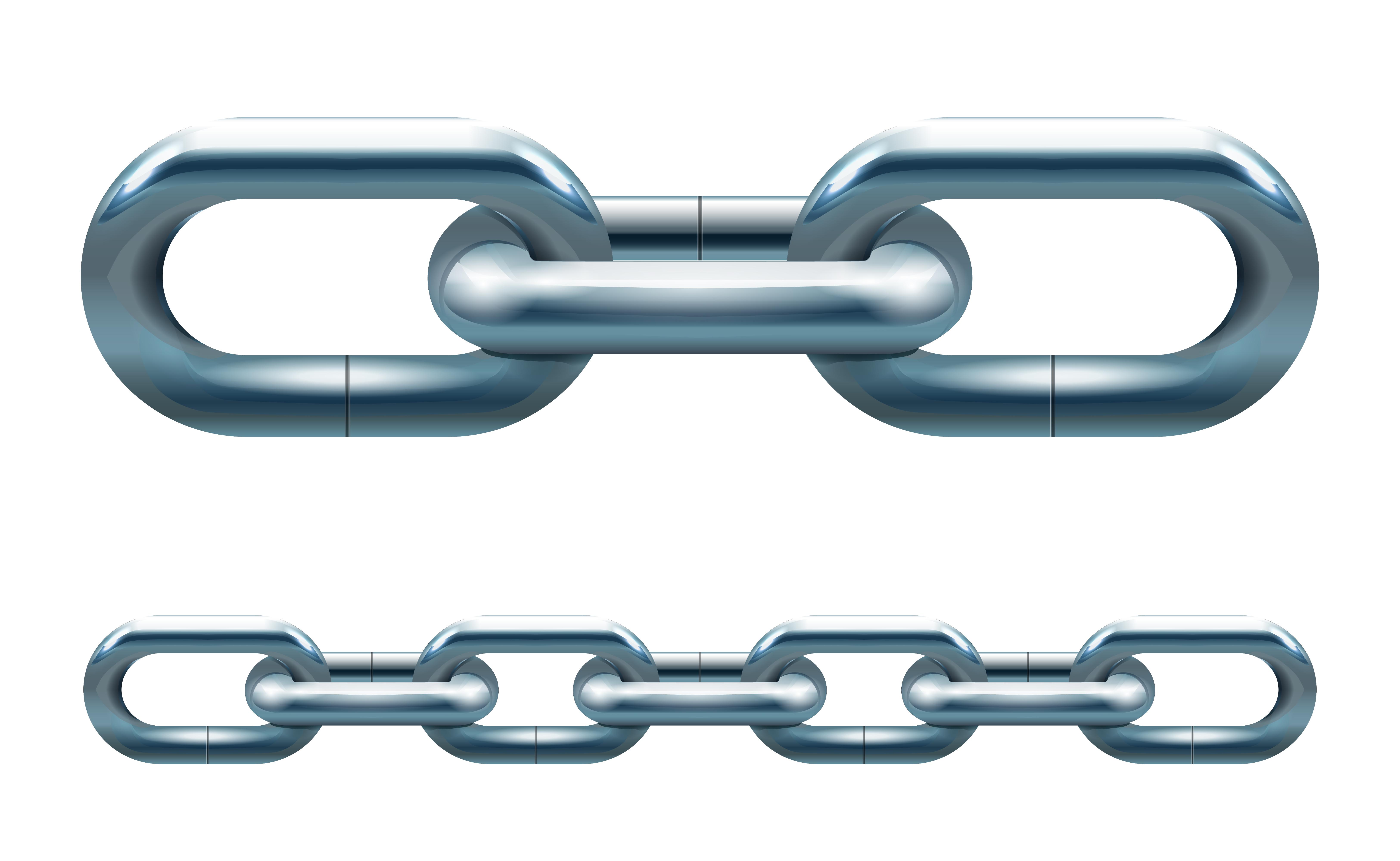 Metal chain 435980 Vector Art at Vecteezy  Chain Vector
