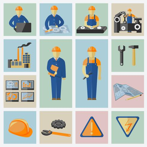 Engineering and construction vector
