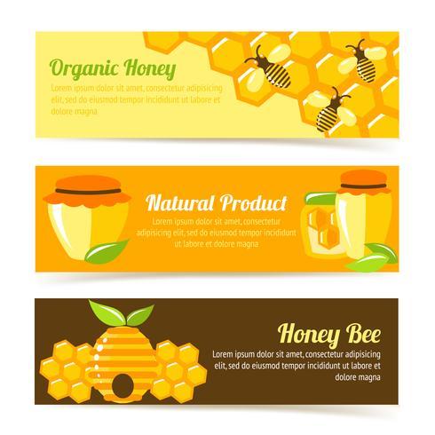 Honey bee banners