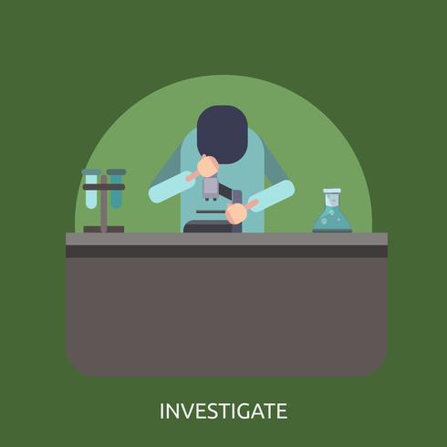 Investigate Conceptual illustration Design
