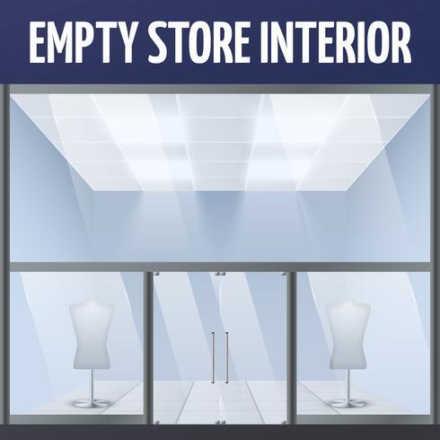 Empty story interior