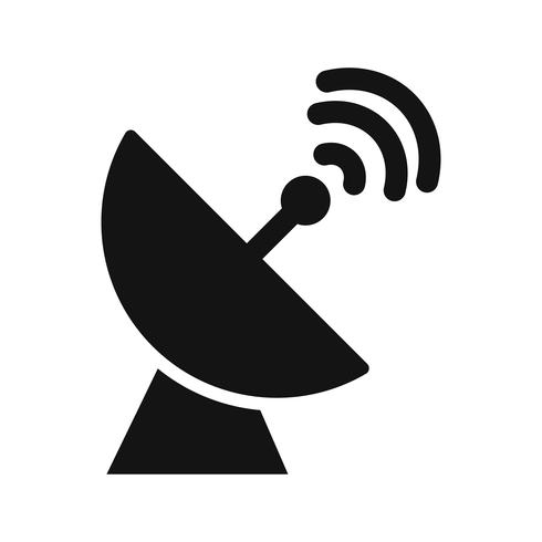 icône de vecteur parabole