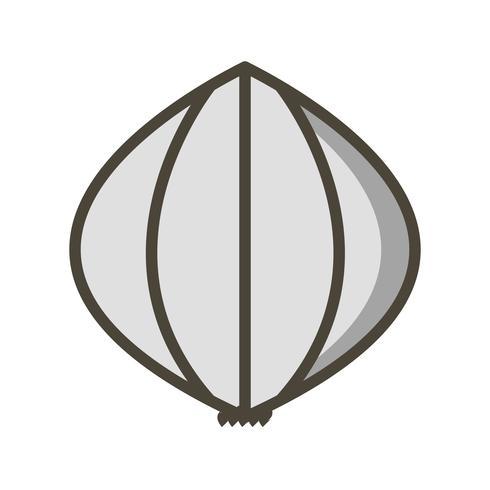 Vector Garlic Icon
