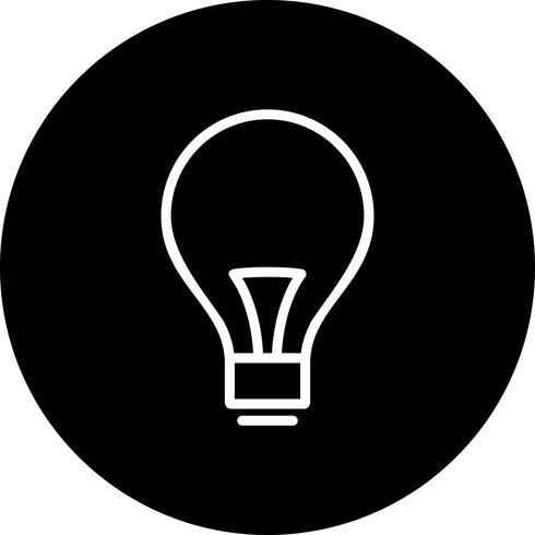 Vector Bulb Icon