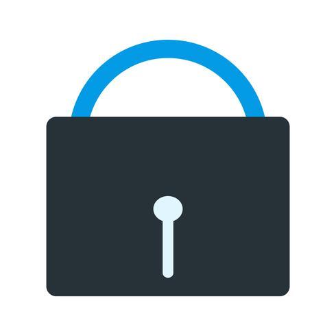 Icono de seguridad del vector