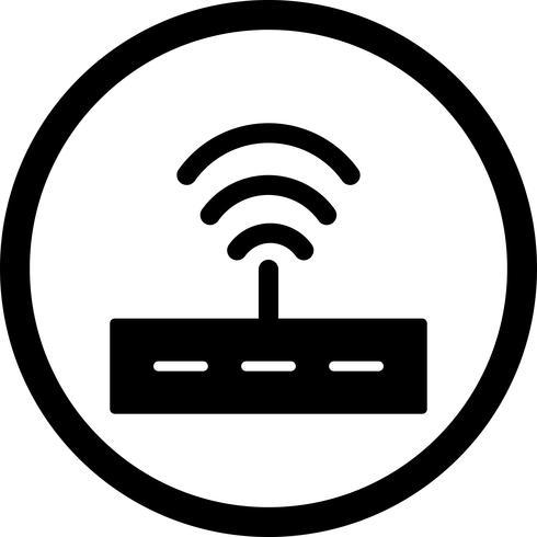 Vector Routerpictogram