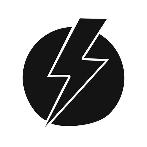 Elektrische schok Vector Icon