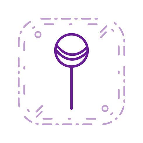 Vector Lollipop Icon