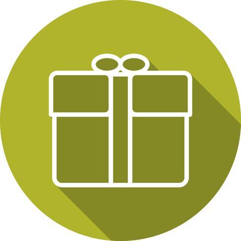 Vector icono de regalo