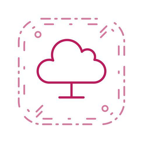 Nuage informatique Vector Icon