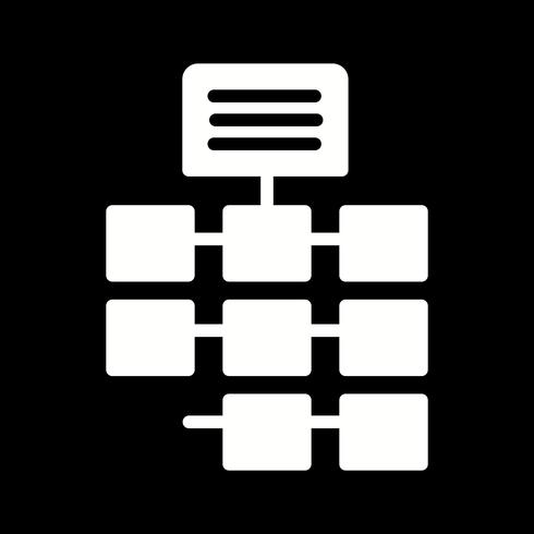Icona della rete vettoriale