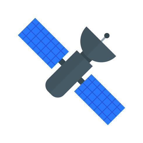 Ruimtestation Vector Icon