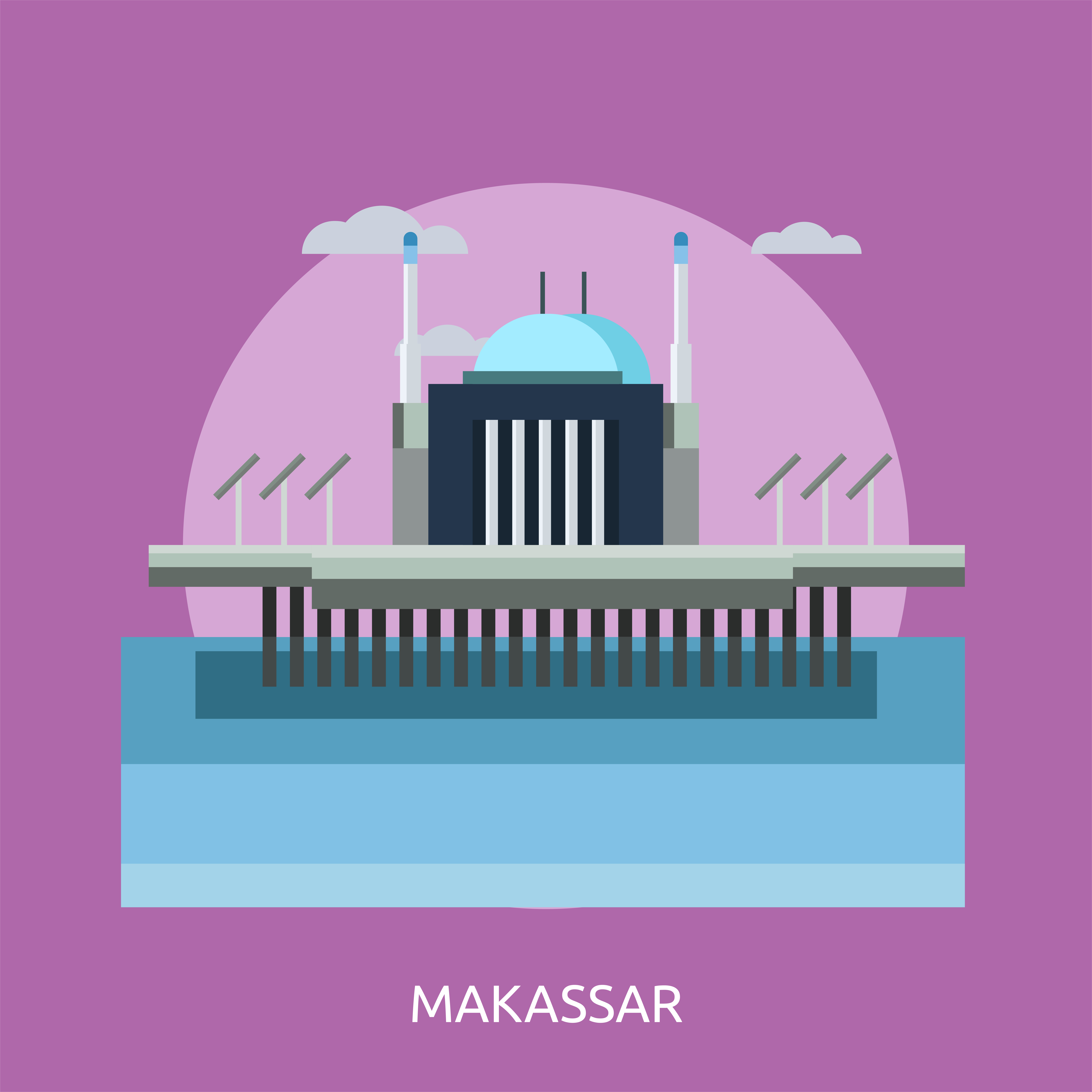 Makassar Conceptual Illustration Design