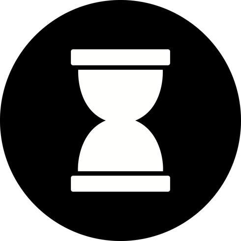 Icona di vettore di clessidra