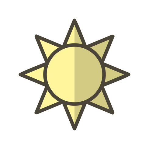 Brightness Vector Icon