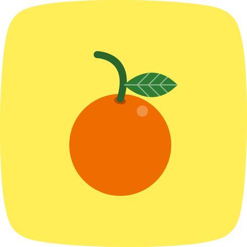 Vector oranje pictogram
