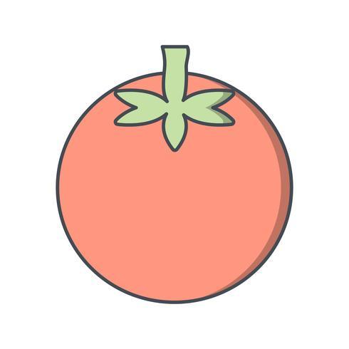 Vector tomatenpictogram