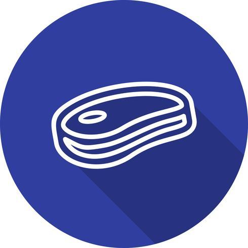 Vector vlees pictogram