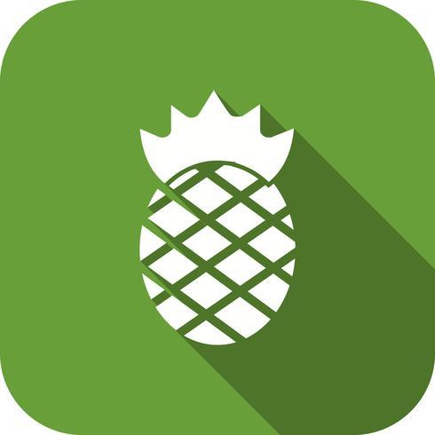 Ícone de abacaxi de vetor