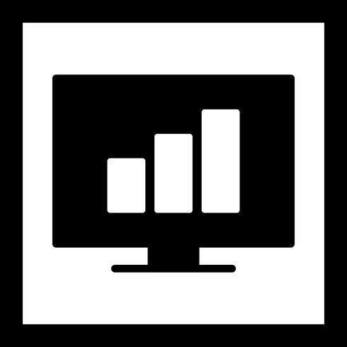 Vector statistieken pictogram