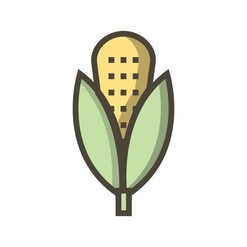 Vector icono de maíz