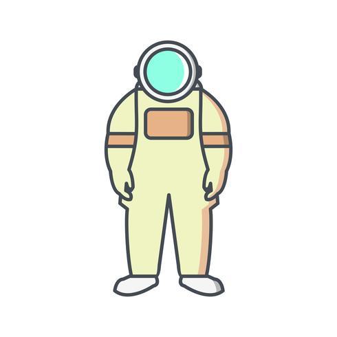 astronout vektorikonen