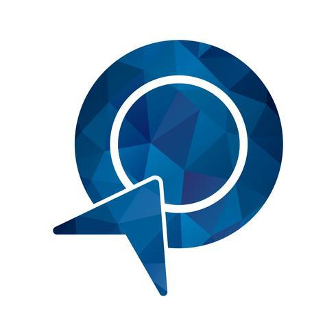Vektor-Pay-Per-Click-Symbol