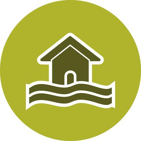 Icono de Vector de símbolo de inundación
