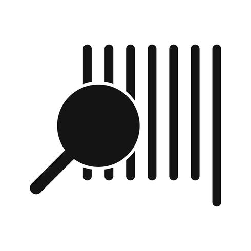Icône Vector Find Product