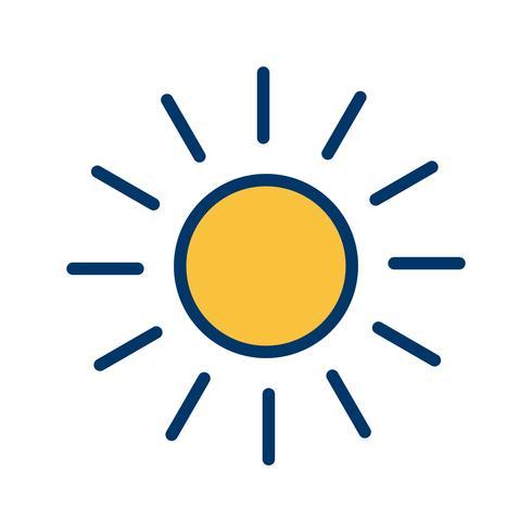 zon vector pictogram