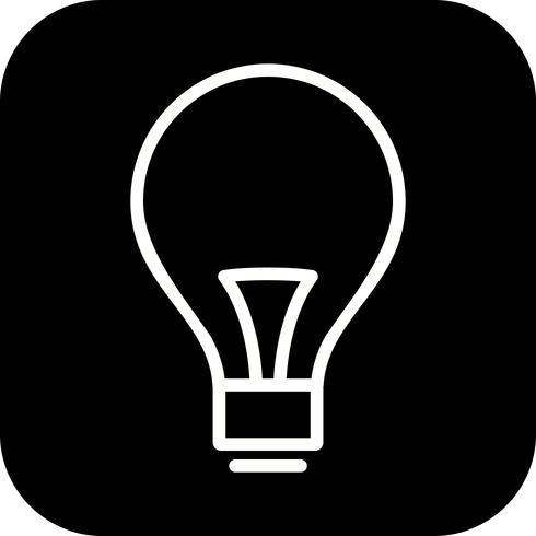 Vektor-Birnen-Symbol