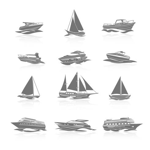 Boten Icons Set