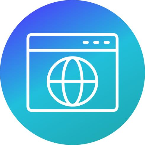 Vektor-Browser-Symbol