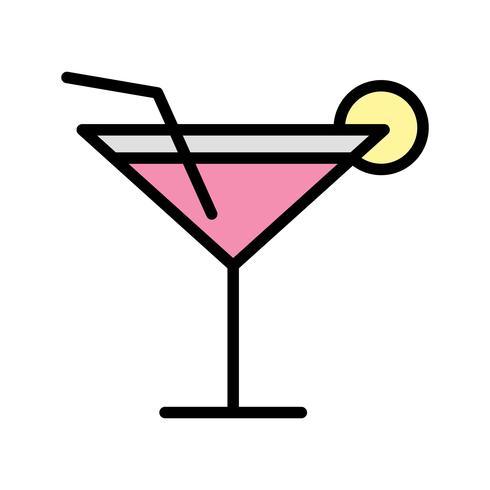 Vector icono de cóctel