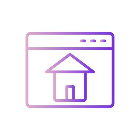 Vector Homepage Icon