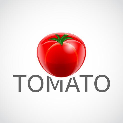 Affiche réaliste de tomate