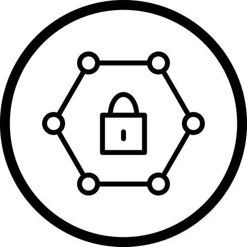 Vector Protected Network Icon