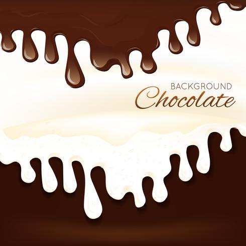 Milchschokolade Spritzen