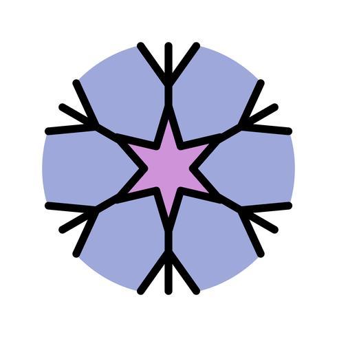 Snow Flake Vector Icon