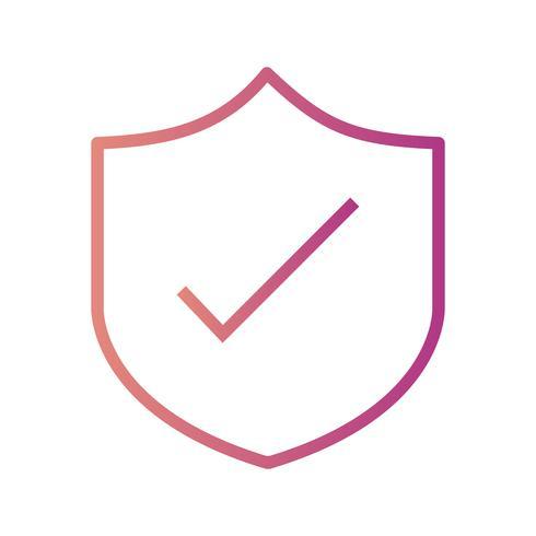 Icono de Vector de escudo